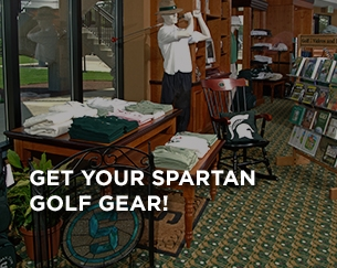 Get Your Spartan Golf Gear