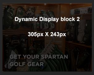 Get Your Spartan Golf Gear